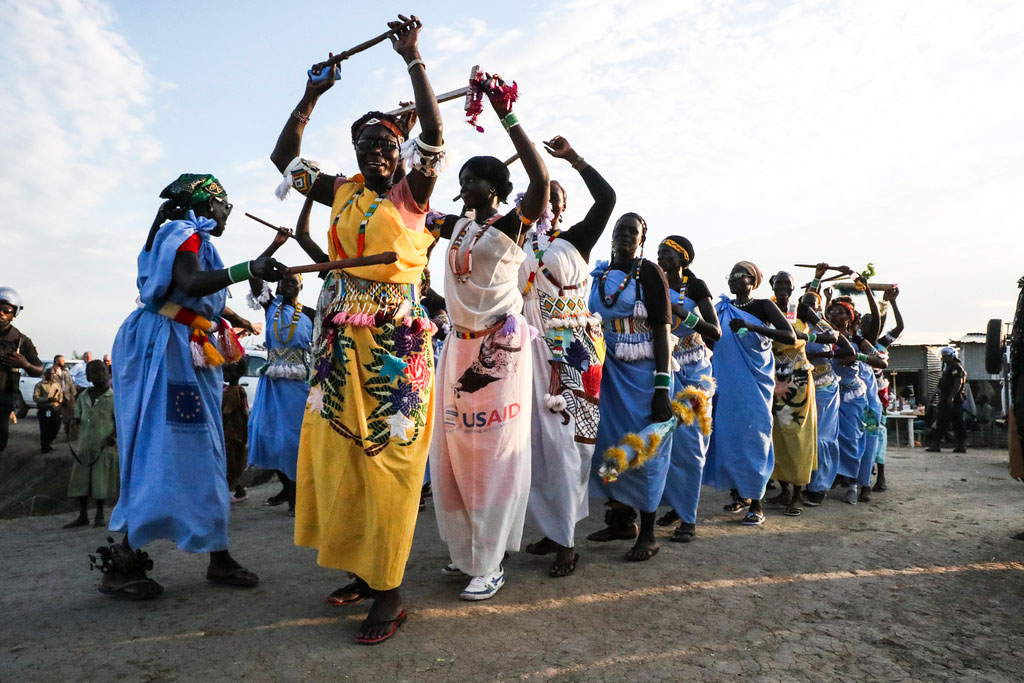 Traditional Dancing Styles from Sudan